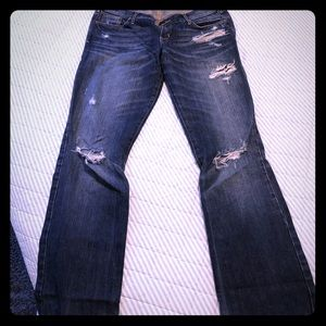 Distressed Abercrombie jeans nwot